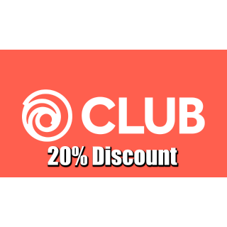 Discount code 20% off Ubisoft store/games