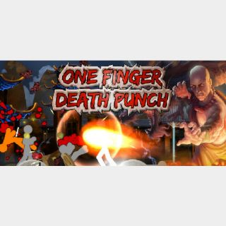 [𝐈𝐍𝐒𝐓𝐀𝐍𝐓]One Finger Death Punch(Steam Key Global)