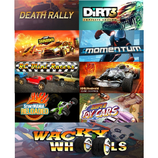 9 in 1 Racing Game Pack (Steam Key Global)