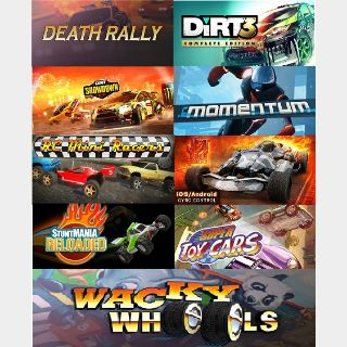 9 in 1 Racing Game Pack (Steam Key Global)