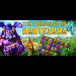 🎮 [𝐈𝐍𝐒𝐓𝐀𝐍𝐓] The Treasures of Montezuma 4 (Steam Gift Global)