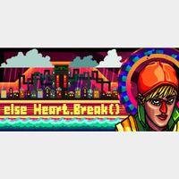[𝐈𝐍𝐒𝐓𝐀𝐍𝐓]Else Heart.Break()(Steam Key Global)