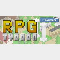 [𝐈𝐍𝐒𝐓𝐀𝐍𝐓] RPG Tycoon + Soundtrack (Steam Key Global)