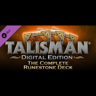 [𝐈𝐍𝐒𝐓𝐀𝐍𝐓]Talisman - Complete Runestone Deck(Steam Key Global)