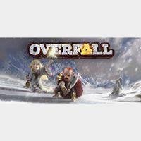🔑 Overfall Steam CD Key  [𝐈𝐍𝐒𝐓𝐀𝐍𝐓]