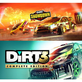 DiRT 3 Complete Edition ➕ DiRT Showdown (Steam Key Global)
