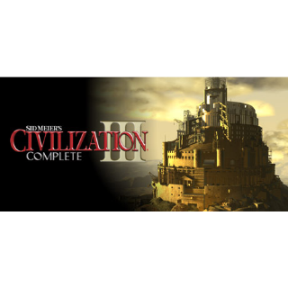 [𝐈𝐍𝐒𝐓𝐀𝐍𝐓]Sid Meier's Civilization III Complete(Steam Key Global)