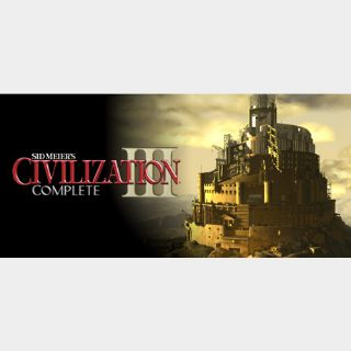 [𝐈𝐍𝐒𝐓𝐀𝐍𝐓]Sid Meier's Civilization III Complete(Steam Key Global)