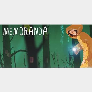 [𝐈𝐍𝐒𝐓𝐀𝐍𝐓]Memoranda(Steam Key Global)