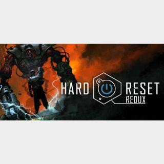 Hard Reset Redux  (Steam Key Global)