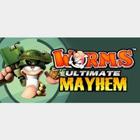 [𝐈𝐍𝐒𝐓𝐀𝐍𝐓]Worms Ultimate Mayhem(Steam Key Global)