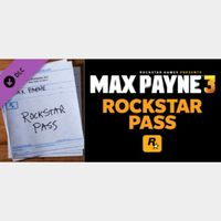 [𝐈𝐍𝐒𝐓𝐀𝐍𝐓] Max Payne 3 Rockstar Pass(Steam Key Global)