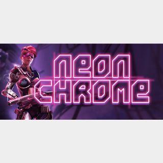 [𝐈𝐍𝐒𝐓𝐀𝐍𝐓]Neon Chrome(Steam Key Global)