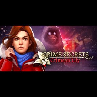 Crime Secrets: Crimson Lily  (Steam Key Global)