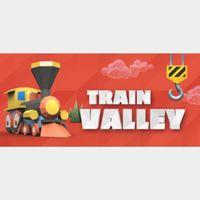 🔑  Train Valley  Steam CD Key  [𝐈𝐍𝐒𝐓𝐀𝐍𝐓]