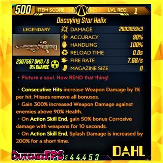 Weapon   ❗MOD❗ ⭐ Helix ☢️ Level 1