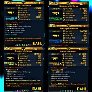 Weapon   ❗MOD❗ LvL 1 Kaoson Set