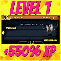 Artifact | ❗MOD❗ +550% XP Level 1