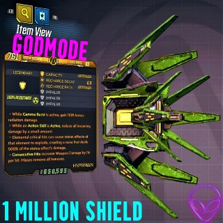 Shield | ❗MOD❗ Milli Shield ☢️65