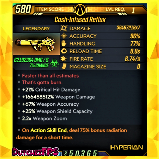 Weapon | ❗MOD❗ Reflux☣️ Level 1