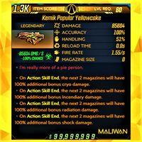 Weapon | ❗MOD❗ Yellowcake SMG ☣️