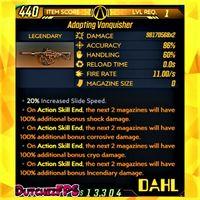 Weapon | ❗MOD❗ Vanquisher LVL 1