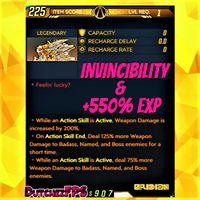 Shield | +550% EXP GodMode