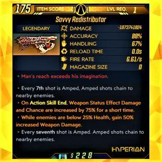 Weapon   ❗MOD❗LvL 1 Redistributor
