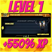 Artifact | ❗MOD❗ +550% XP Level 1