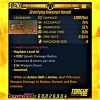 Weapon | ❗MOD❗ Unkempt Harold