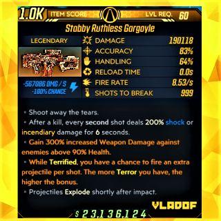 Weapon   ❗MOD❗ Gargoyle AR ⚡