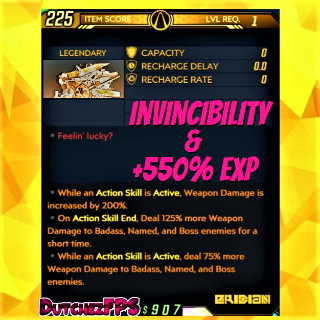 Shield   ❗MOD❗ +550% EXP GodMode