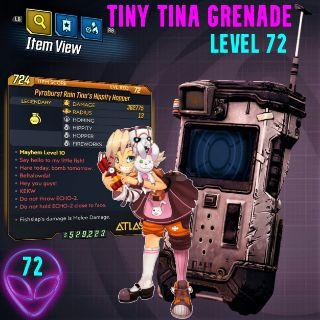 Grenade | ❗MOD❗ Tiny Tina 💣72