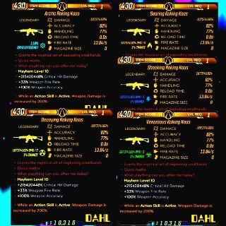 Weapon   ❗MOD❗ LvL 1 Kaos AR Set