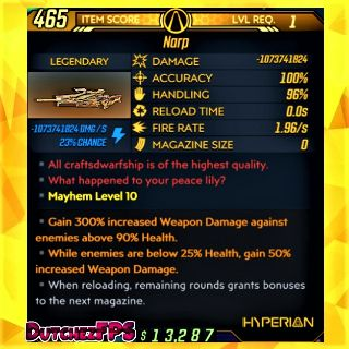 Weapon   ❗MOD❗ Narp ⚡ Level 1