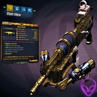Weapon | ❗MOD❗LV 1 Boom Sickle