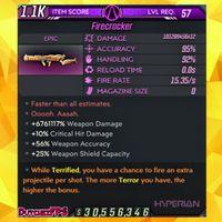 Weapon | MODDED Firecracker 🎆
