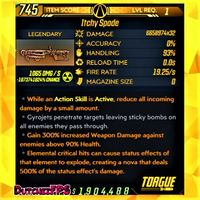 Weapon | ❗MOD❗ Spade ☢️ Level 1