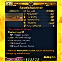 Weapon | ❗MOD❗ Headsplosion LVL 1