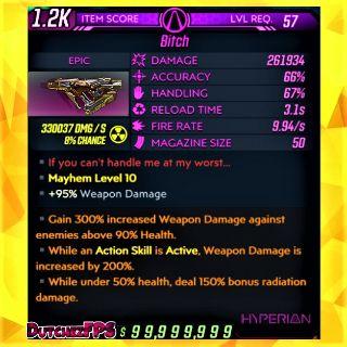 Weapon | ❗MOD❗ Bitch ☢️