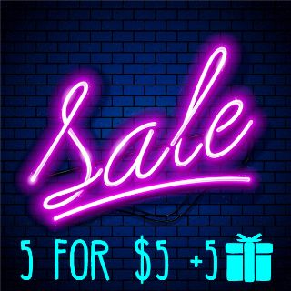 Weapon   🈹 5 for $5 +5 🎁