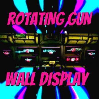 Weapon   Rotating Gun Display 🔥