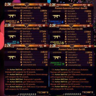 Weapon   ❗MOD❗Smart-Gun Set LV65