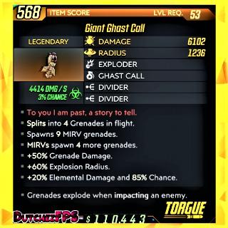 Grenade   ❗MOD❗ Giant Ghast Call☣️