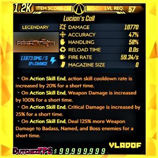 Weapon   ❗MOD❗ Lucian's Call ⚡