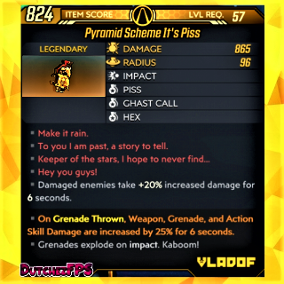Grenade   ❗MOD❗ It's Piss 💀🤑