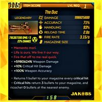 Weapon | ❗MOD❗ The Duc ☢️ Level 1