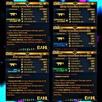 Weapon | ❗MOD❗🩸Starved Beast Set