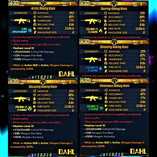 Weapon   ❗MOD❗ LvL 1 Kaos Set