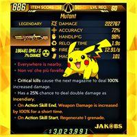 Weapon | ❗MOD❗ Pikachu Mutant ☢️